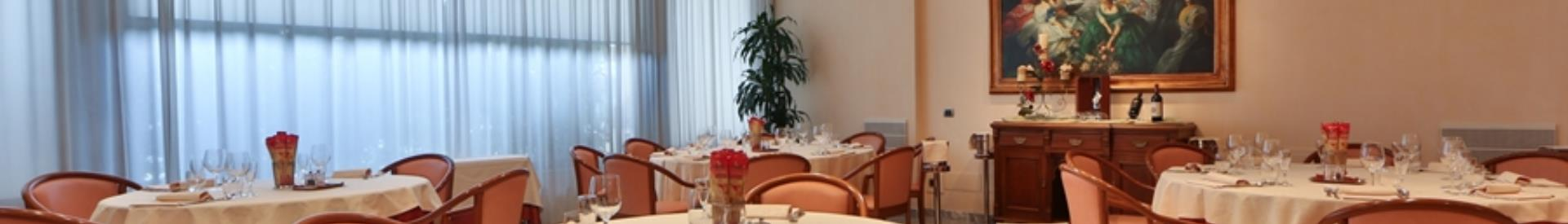 Open for lunch and dinner Restaurant meridians Forlì, ideal for business lunches and dinners. meat specialities, fish and regional