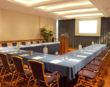 Discover the conference rooms in the Best Western Hotel Globus City and organize your events in Forlì