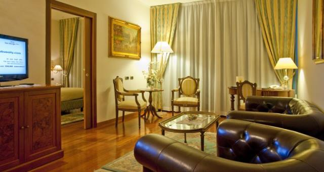 Book the suite of hotel globus City Forlì, the most exclusive